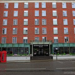 Отель Holiday Inn London - Kensington парковка