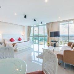Andaman Beach Suites Hotel 4* Номер Делюкс разные типы кроватей фото 6