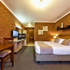 Отель Central Yarrawonga Motor Inn комната для гостей фото 4