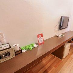 Отель Nida Rooms Saladaeng 130 Silom Walk Бангкок сейф в номере