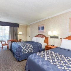 Отель Days Inn Airport Center LAX комната для гостей фото 4