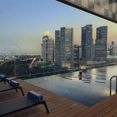 Отель Pan Pacific Serviced Suites Beach Road, Singapore бассейн фото 3