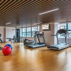 Отель Springdale Serviced Residence Гуанчжоу фитнесс-зал фото 2