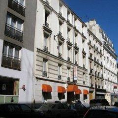Отель ABRICOTEL Париж вид на фасад