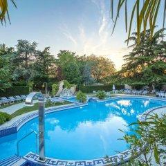 Отель Abano Ritz Hotel Terme Италия, Абано-Терме - 13 отзывов об отеле, цены и фото номеров - забронировать отель Abano Ritz Hotel Terme онлайн бассейн фото 3