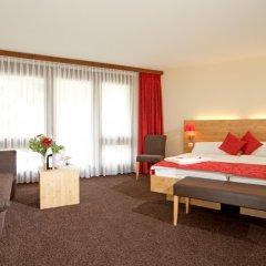 Отель Central Swiss Quality Sporthotel Швейцария, Давос - отзывы, цены и фото номеров - забронировать отель Central Swiss Quality Sporthotel онлайн комната для гостей фото 4