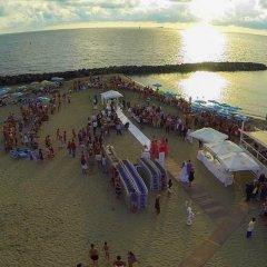 Hotel del Mare пляж фото 2