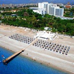Su & Aqualand Турция, Анталья - 13 отзывов об отеле, цены и фото номеров - забронировать отель Su & Aqualand онлайн пляж