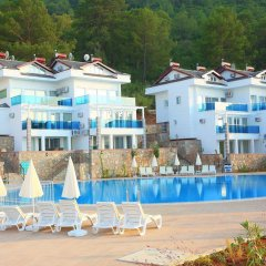 Апартаменты Orka Royal Hills Apartment Олудениз пляж