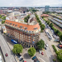 Отель a&o Hamburg Hauptbahnhof парковка