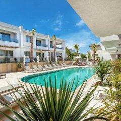 Отель Pefki Deluxe Residences Греция, Пефкохори - отзывы, цены и фото номеров - забронировать отель Pefki Deluxe Residences онлайн бассейн фото 3