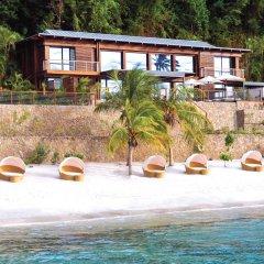 Отель Sugar Beach, A Viceroy Resort пляж