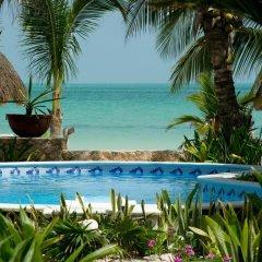 Отель Holbox Dream Beach Front Hotel by Xperience Hotels Мексика, Остров Ольбокс - отзывы, цены и фото номеров - забронировать отель Holbox Dream Beach Front Hotel by Xperience Hotels онлайн бассейн фото 3