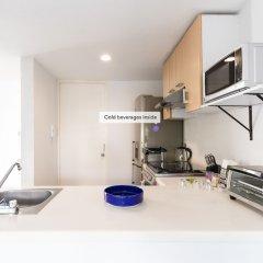 Апартаменты Bright 2BR Condesa Apartment With Balcony Мехико в номере фото 2