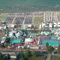 Отель Riccione Beach Hotel Италия, Риччоне - 5 отзывов об отеле, цены и фото номеров - забронировать отель Riccione Beach Hotel онлайн пляж фото 2