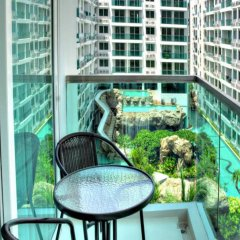 Отель Amazon Residence Pattaya Jomtien Паттайя балкон