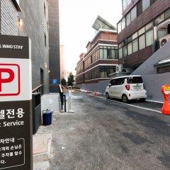 Отель Inno Stay Сеул парковка