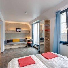 Отель MEININGER Hotel Wien Downtown Franz Австрия, Вена - 5 отзывов об отеле, цены и фото номеров - забронировать отель MEININGER Hotel Wien Downtown Franz онлайн комната для гостей фото 4