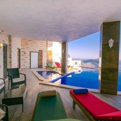 Villa Heart Турция, Калкан - отзывы, цены и фото номеров - забронировать отель Villa Heart онлайн бассейн