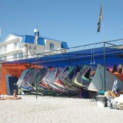 Santorini Hotel пляж фото 2