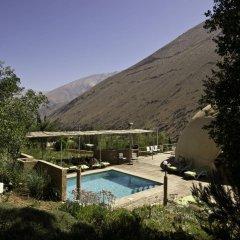 Отель Elqui Domos бассейн