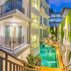 Отель Anajak Bangkok Hotel Таиланд, Бангкок - 3 отзыва об отеле, цены и фото номеров - забронировать отель Anajak Bangkok Hotel онлайн балкон
