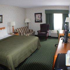 Отель All Seasons Inn and Suites комната для гостей фото 5