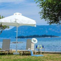 Отель TUI Family Life Kerkyra Golf Греция, Корфу - отзывы, цены и фото номеров - забронировать отель TUI Family Life Kerkyra Golf онлайн пляж