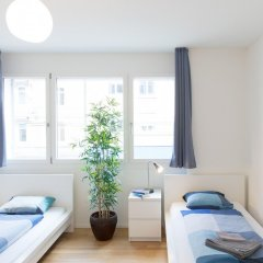 Отель HITrental Kreuzplatz Apartments Швейцария, Цюрих - отзывы, цены и фото номеров - забронировать отель HITrental Kreuzplatz Apartments онлайн комната для гостей фото 5