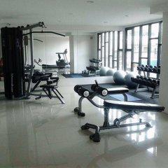 Апартаменты Pintree Service Apartment Pattaya Паттайя фитнесс-зал фото 3