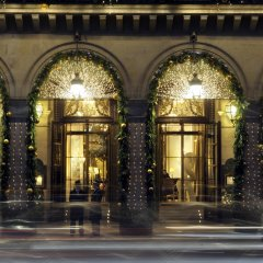 Отель Le Meurice вид на фасад фото 2