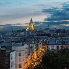 Отель Best Western Le 18 Париж балкон