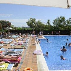 Отель Camping Del Mar Испания, Мальграт-де-Мар - отзывы, цены и фото номеров - забронировать отель Camping Del Mar онлайн бассейн фото 3