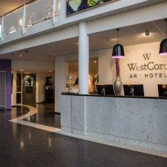 Отель Westcord Art Amsterdam 4 Star Амстердам интерьер отеля