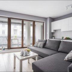 Апартаменты P&O Apartments Oxygen Wronia 1 комната для гостей фото 4