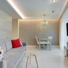 Апартаменты Happy Stay OldNova Deluxe Apartment 335 Гданьск комната для гостей