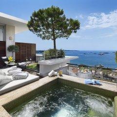Le Grand Hotel Cannes Канны бассейн фото 2