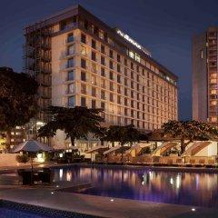 Отель Pullman Kinshasa Grand Hotel Республика Конго, Киншаса - отзывы, цены и фото номеров - забронировать отель Pullman Kinshasa Grand Hotel онлайн вид на фасад