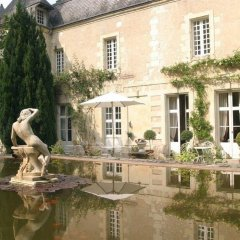 Отель Château De Beaulieu Сомюр приотельная территория фото 2