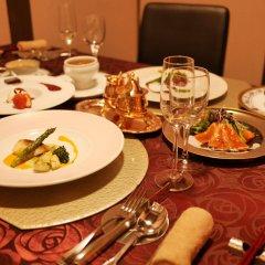 Отель Hatago Sakura Минамиогуни питание
