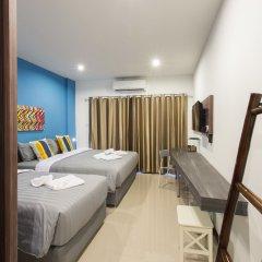 Отель Krabi Inn & Omm Hotel Таиланд, Краби - отзывы, цены и фото номеров - забронировать отель Krabi Inn & Omm Hotel онлайн комната для гостей фото 2