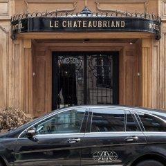 Отель Hôtel Chateaubriand Champs Elysées Париж городской автобус