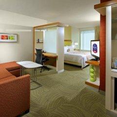 Отель SpringHill Suites by Marriott Columbus OSU комната для гостей фото 2