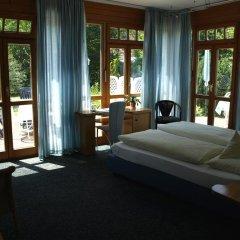 Отель Villa Waldperlach Германия, Мюнхен - отзывы, цены и фото номеров - забронировать отель Villa Waldperlach онлайн комната для гостей фото 4