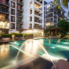 Отель Amanta Hotel & Residence Ratchada Таиланд, Бангкок - отзывы, цены и фото номеров - забронировать отель Amanta Hotel & Residence Ratchada онлайн бассейн