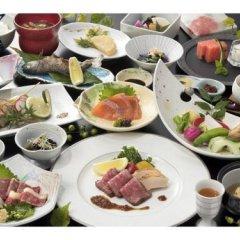 Отель Okyakuya Япония, Минамиогуни - отзывы, цены и фото номеров - забронировать отель Okyakuya онлайн питание фото 3