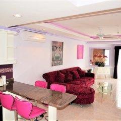 Отель Superb 1 bed at Jomtien Beach Паттайя комната для гостей