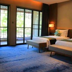 Отель Xiamen Aqua Resort 5* Улучшенный номер с различными типами кроватей