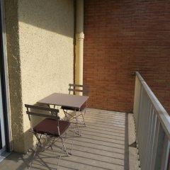 Отель Le Domaine de Chamma Rangueil Франция, Тулуза - отзывы, цены и фото номеров - забронировать отель Le Domaine de Chamma Rangueil онлайн балкон