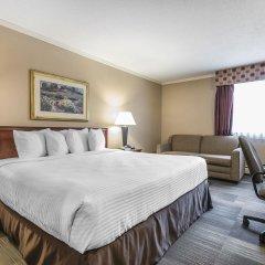 Отель Econo Lodge South Calgary Канада, Калгари - отзывы, цены и фото номеров - забронировать отель Econo Lodge South Calgary онлайн комната для гостей фото 2